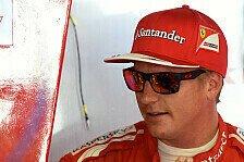 Formel 1 - Karriereende in Rot: R�ikk�nen: 2015 definitiv bei Ferrari