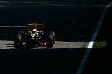 Formel 1 - Der Kurs ist intensiv: Pastor Maldonado: Blo� nicht dehydrieren