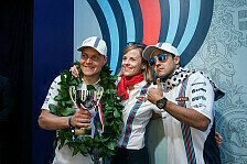 Formel 1 - Kontinuität in Grove: Fix: Williams startet 2015 mit Massa und Bottas