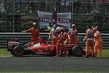 Formel 1 - Super-Serie gerissen: Alonso: �rgerlicher Ausfall in Monza