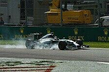 Formel 1 - Schrecklich, den Sieg so zu verlieren: Rosberg erkl�rt Fehler: Weder Absicht, noch Defekt