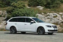 Auto - Effizient, kraftvoll, luxuri�s: Neuer Topmotor f�r den Skoda Octavia Combi L&K: Skoda bietet jetzt auch den Octavia Combi L&K