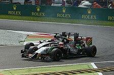 Formel 1 - Passt zu meinem Fahrstil: Sergio Perez: In Singapur Rekord zu verteidigen