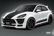Auto - Sportliches Gewand f�r den SUV: Macan in neuer Optik