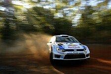 WRC - Volkswagen mit historischem Dreifacherfolg: Australien: Ogier holt sechsten Saisonsieg