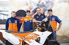 Dakar - Gro�er Traum: Walkner startet im KTM Werksteam