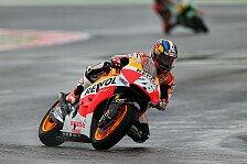 MotoGP - St�rze der Anderen rauben Selbstvertrauen: Misano: Pedrosa und Marquez auch im Unwetter stark