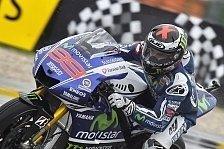 MotoGP - Iannone und Rossi in der ersten Startreihe: Lorenzo erobert erste Pole 2014 in Misano