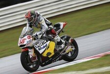 Moto2 - Cortese und Krummenacher st�rzen: Kallio angelt sich die Pole in Misano