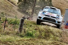 WRC - Video: Rallye Australien: VW-Highlights Tag 2