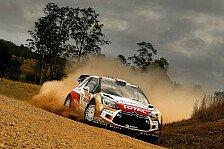 WRC - Kurve zu stark geschnitten: Australien: Kris Meeke bestraft