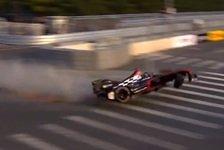 Formel E - Strafe f�r Prost: Heidfeld nach Horror-Unfall unverletzt