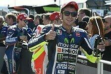MotoGP - Nicht langsamer als fr�her: Rossi: Der beste Valentino meiner Karriere