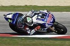 MotoGP - Reifen-Poker ging nicht auf: Lorenzo: Gro�es Lob an Rossi