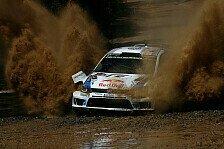 WRC - Ein gro�artiger Tag: Volkswagen: 1 - 2 - 3 und Weltmeister