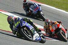 MotoGP - Yamaha schl�gt Honda, Lorenzo mit Fehlentscheidung: Rennanalyse: Rossis Siegfaktoren
