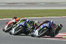 MotoGP - Rossi und Lorenzo erwarten Kampf bis zur Ziellinie
