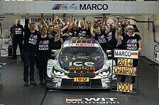 DTM - Meistermacher aus der Eifel: Das BMW Team RMG im Portr�t