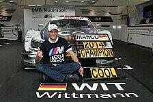DTM - Wittmann will das Triple