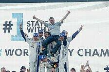 WRC - Video: VW feiert Dreifachsieg und Herstellertitel