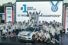 WRC - Volkswagen: Drei Matchbälle bei Rallye Australien