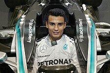 Formel 1 - Vielversprechende Zukunft: Mercedes: Wehrlein wird Ersatzfahrer