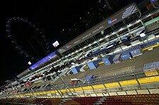 Formel 1 - Bilder: Singapur GP - Vorbereitungen