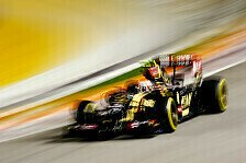 Formel 1 - Aufw�rtstrend bei Lotus: Maldonado nach Crash: War nur das Training
