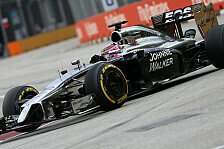 Formel 1 - Pace der Williams war m�glich: Button:McLaren schaut auf Siege, nicht Force India