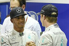 Formel 1 - Video: Rosberg vs. Hamilton in der Jodel-Challenge