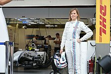 Formel 1 - Video: Susie Wolff im Hybrid-Williams FW36