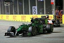 Formel 1 - Caterham vor Marussia - Sogar Rosberg verzweifelte