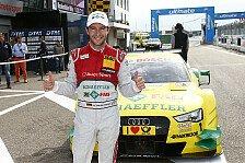 DTM - Rockenfeller: Hoffe es gewinnt der Audi mit der 1