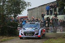 WRC - Frankreich: Neuville hofft auf Regen