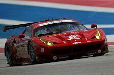 USCC - Pierre Kaffer will beim Petit Le Mans glänzen