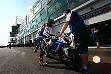 Superbike - Aggressives Magny-Cours gut f�r Suzuki: Eugene Laverty: Bis zur Superpole war alles toll