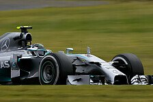 Formel 1 - Mercedes dominiert in Suzuka: Qualifying: Pole f�r Rosberg