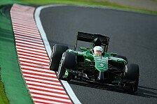 Formel 1 - Fix: Kobayashi für Caterham in Abu Dhabi