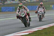 Superbike - Ein enttäuschender Tag für das Ducati Team