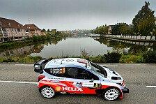 WRC - Hyundai in Frankreich mit drei Autos in den Top-10