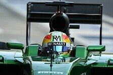 Formel 1 - Caterham legt weiter zu
