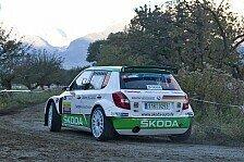 Rallye - Rallye du Valais: Doppelführung für Skoda
