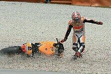 MotoGP - Sturzfest in Brünn: 8 Crashes auf einen Streich