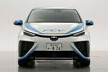 Rallye - Toyota: Rallye mit Brennstoffzelle