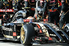 Formel 1 - Video: Willkommen in der Lotus-Box