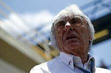Formel 1 - Ecclestone: Formel 1 ein beschissenes Produkt