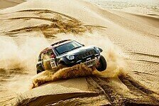 Dakar - Monster Energy Rally Raid Team vor der Rallye Dakar 2015