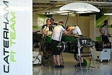 Formel 1 - Caterham: Rollendes Sicherheits-Risiko?