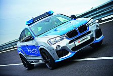 Auto - Video: Blaulicht-Tuning: BMW X4 jagt Verbrecher