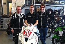 Motorradsport - SUPERBIKE*IDM: Grünwald startet in höchster Klasse